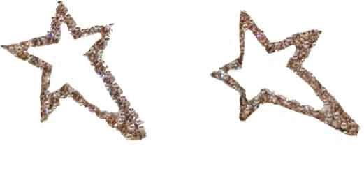 Earing Star Shaped