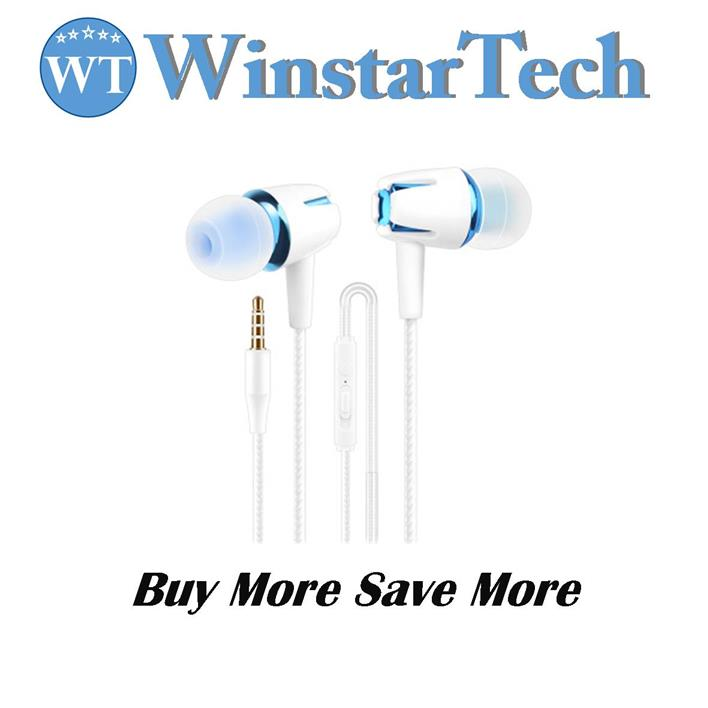 Earphone with Mic and Remote Headphone for iPhone Android Earpod