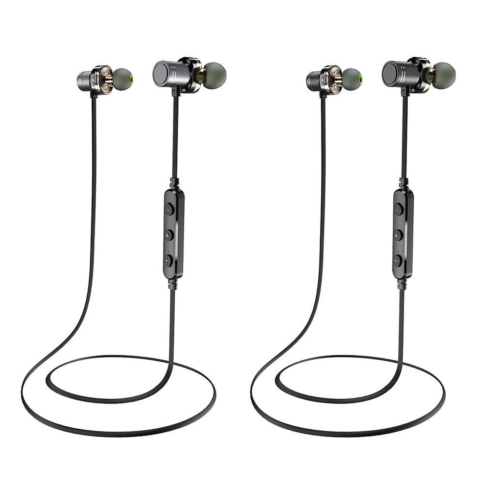 Earphones & Headphones? - AWEI X670bl Dual Drivers Magnetic Ipx4 WIREL..