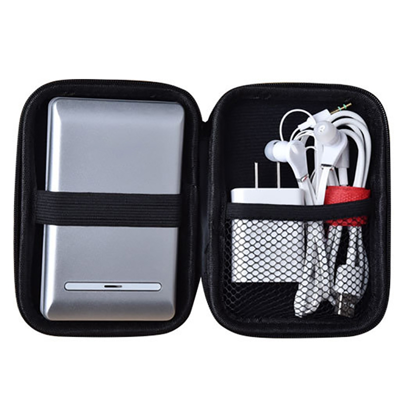 Earphones & Headphones? - Travel Adapter Cable Headset Storage Bag - A..