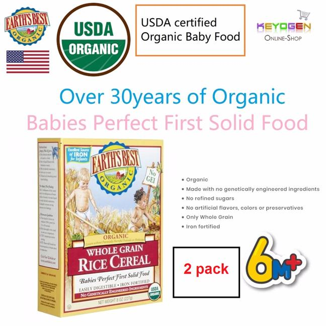 EARTH'S BEST ORGANIC 2 Pack Whole Gr (end 8/7/2019 12:15 PM