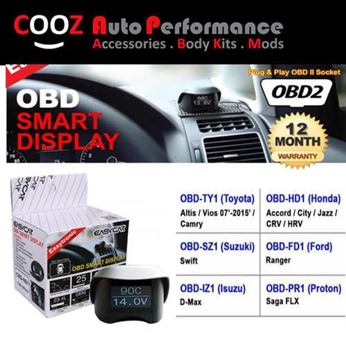 EASY CAR 10 IN1 OBD II SMART DISPLAY MONITOR HONDA HRV