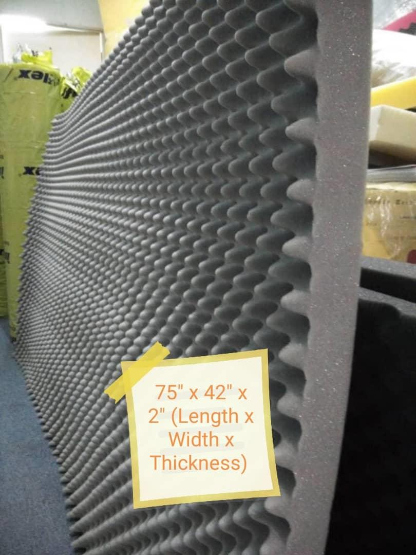 Easy fast safety soundproof foam
