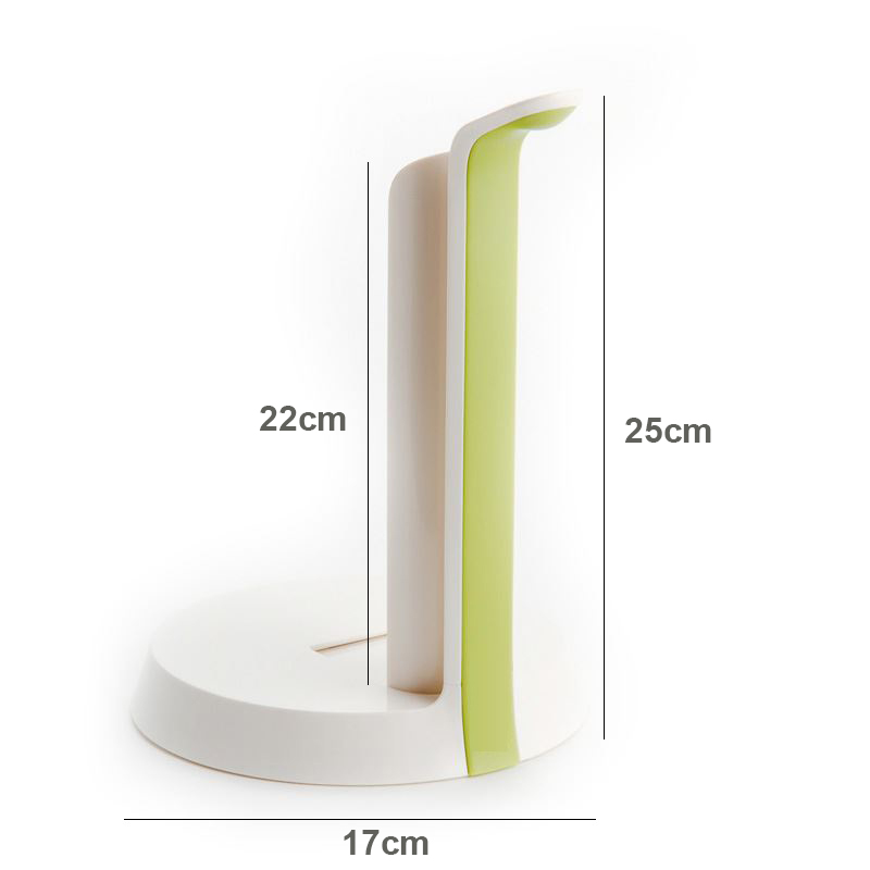 Easy Tear Oil Absorb Paper Towel Holder Rack With Tearing Blade