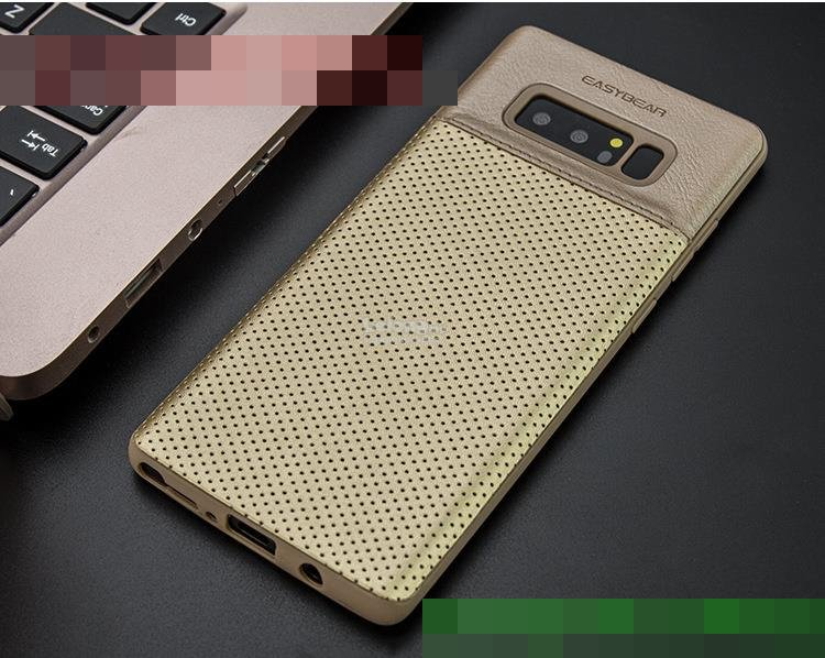Easybear Samsung Galaxy Note 8 PU Leather TPU Back Case Cover Casing