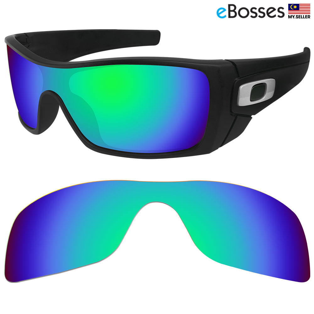eBosses Polarized Replacement Lenses for Oakley Batwolf - Green. ‹ › 1aab4470502f