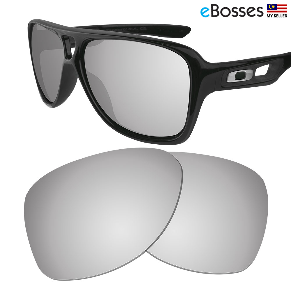 2bc24b956cb eBosses Polarized Replacement Lenses for Oakley Dispatch 2 - Titanium. ‹ ›