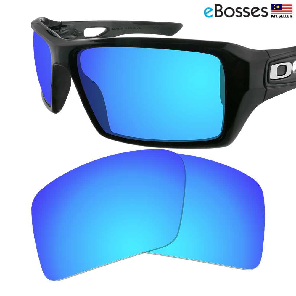 71b6c2554e9 eBosses Polarized Replacement Lenses for Oakley Eyepatch 2 - Ice Blue. ‹ ›