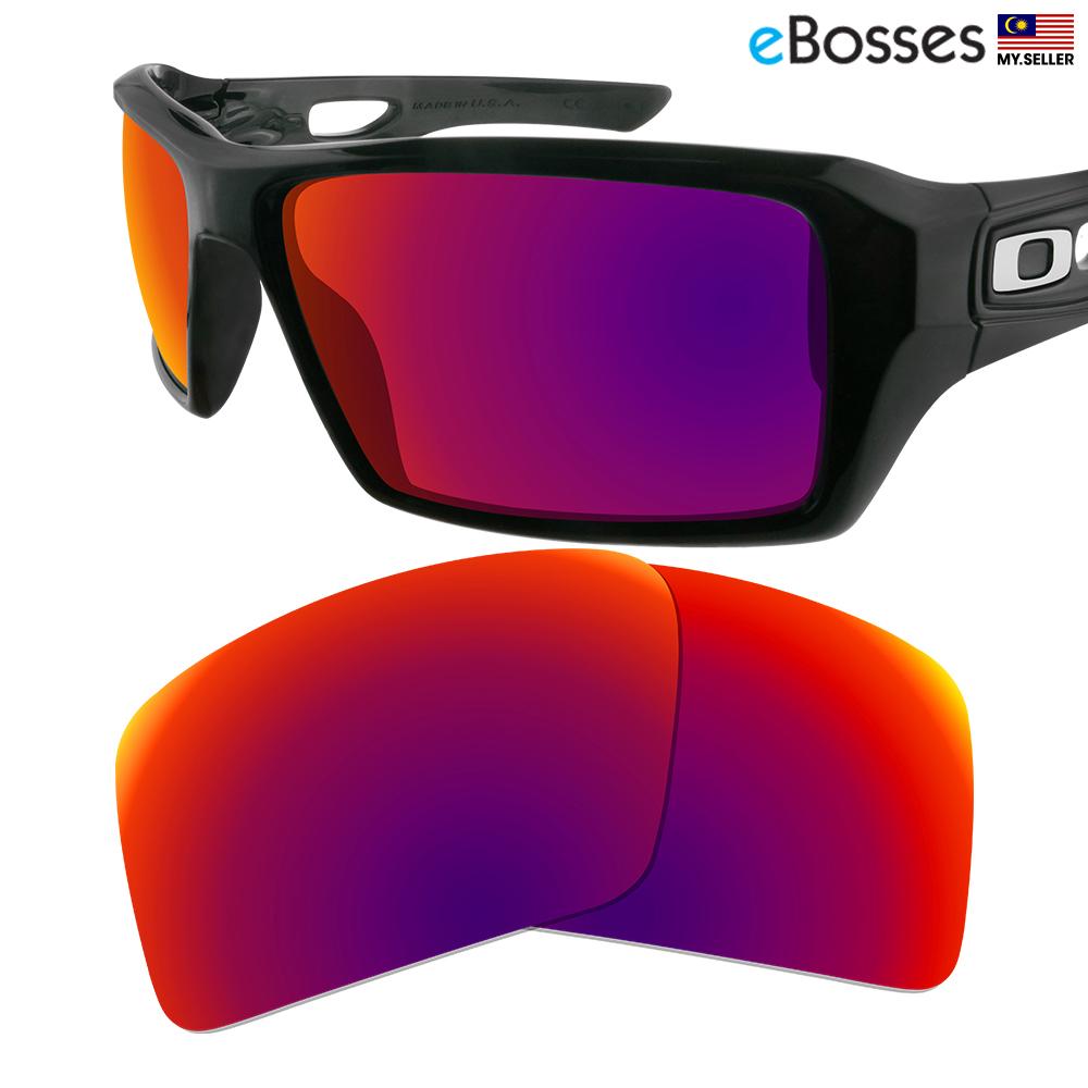 40edddefa74 eBosses Polarized Replacement Lenses for Oakley Eyepatch 2 - Midnight. ‹ ›