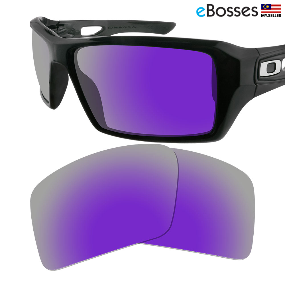 ab8b4e3bd32 eBosses Polarized Replacement Lenses for Oakley Eyepatch 2 - Violet Pu. ‹ ›