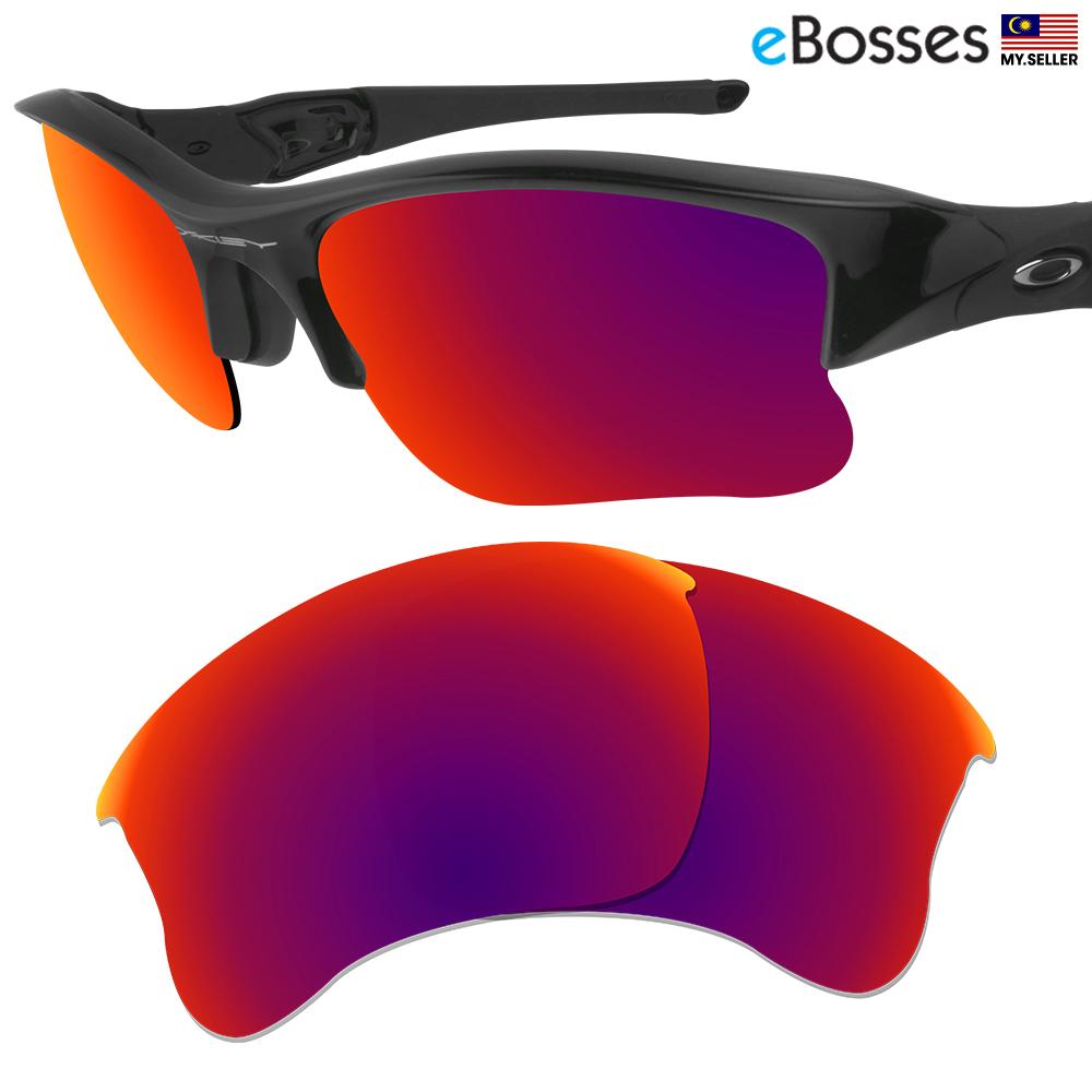 eBosses Polarized Replacement Lenses for Oakley Flak Jacket XLJ - Midn. ‹ › 9161accbe75e