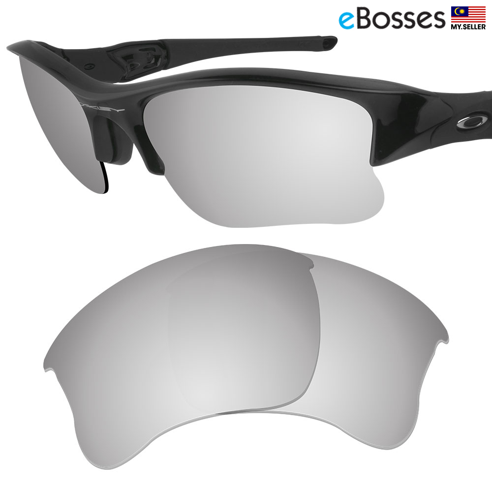 b0535d287cb eBosses Polarized Replacement Lenses for Oakley Flak Jacket XLJ - Tita. ‹ ›