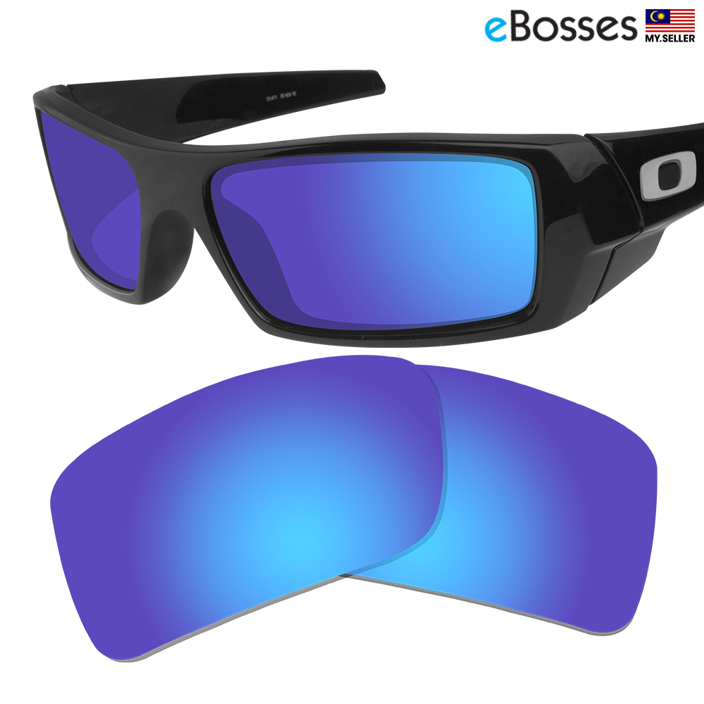 9aa28d109c eBosses Polarized Replacement Lenses for Oakley Gascan - Dark Blue. ‹ ›