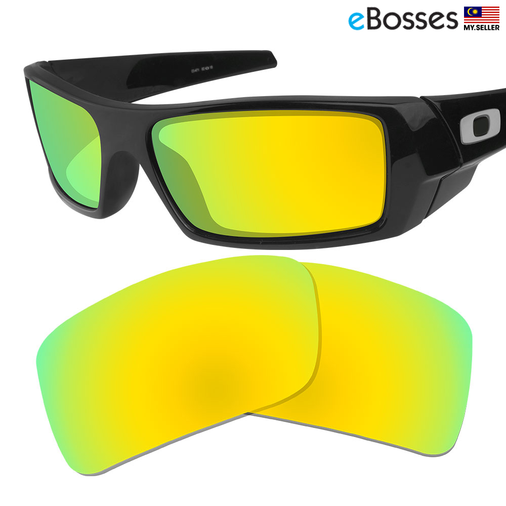 24caf028a940b eBosses Polarized Replacement Lenses for Oakley Gascan - Gold Green. ‹ ›