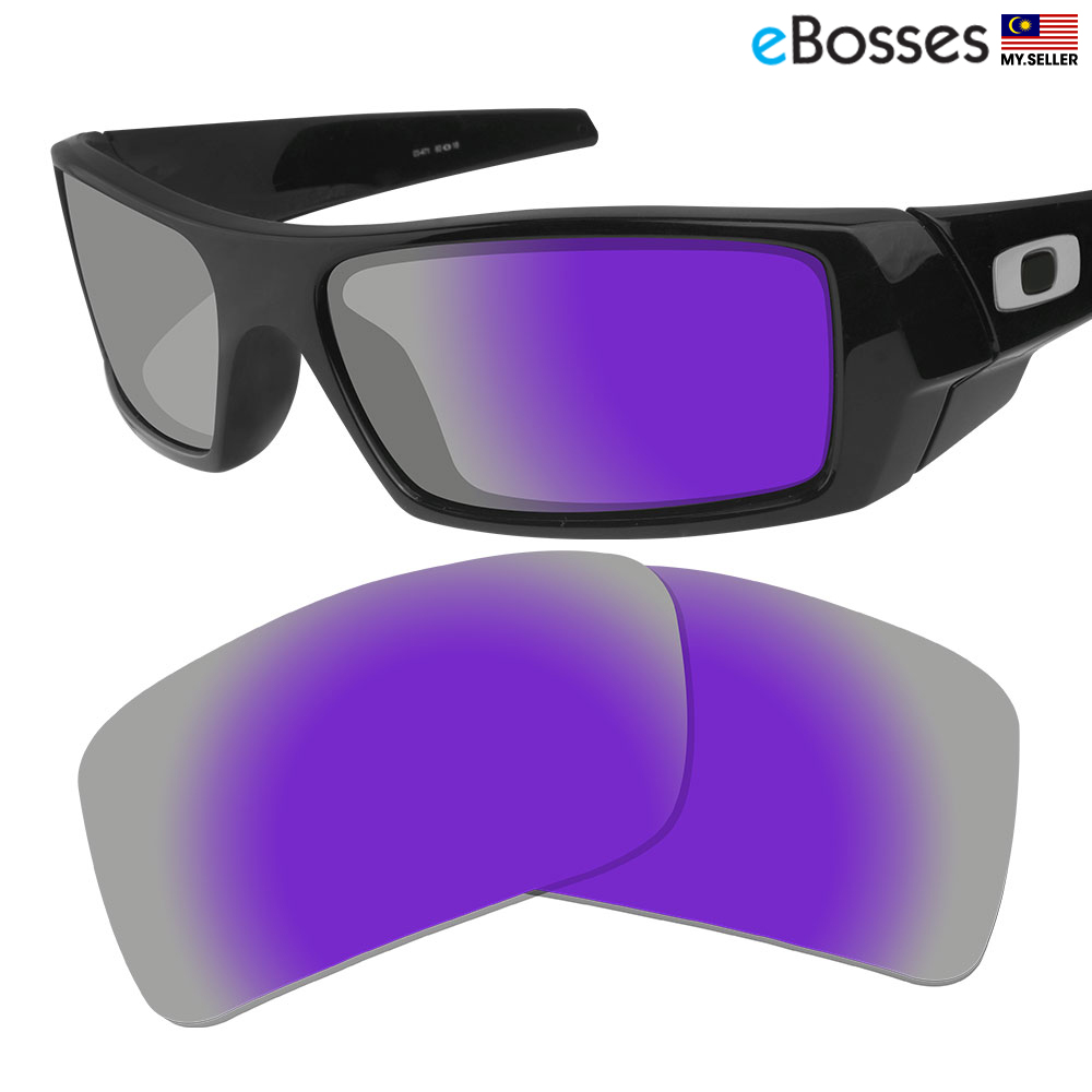 ee50ed141e eBosses Polarized Replacement Lenses for Oakley Gascan - Violet Purple