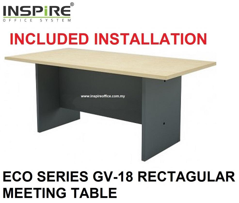 ECO SERIES GV-18 RECTAGULAR MEETING TABLE