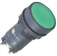 Economical XB7 Green Push Button Switch 22mm Normally Open NO Spring