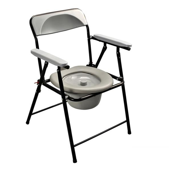 chair shower potty yj height handicapped item adjustable portable toilet folding chairs yanjun commode disabled