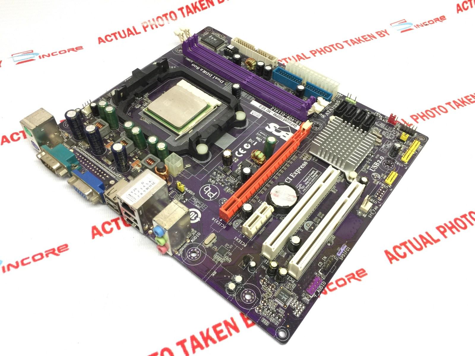 ECS GeForcePM-M2 - - motherboard - micro ATX - Socket AM2 - GeForce Specs
