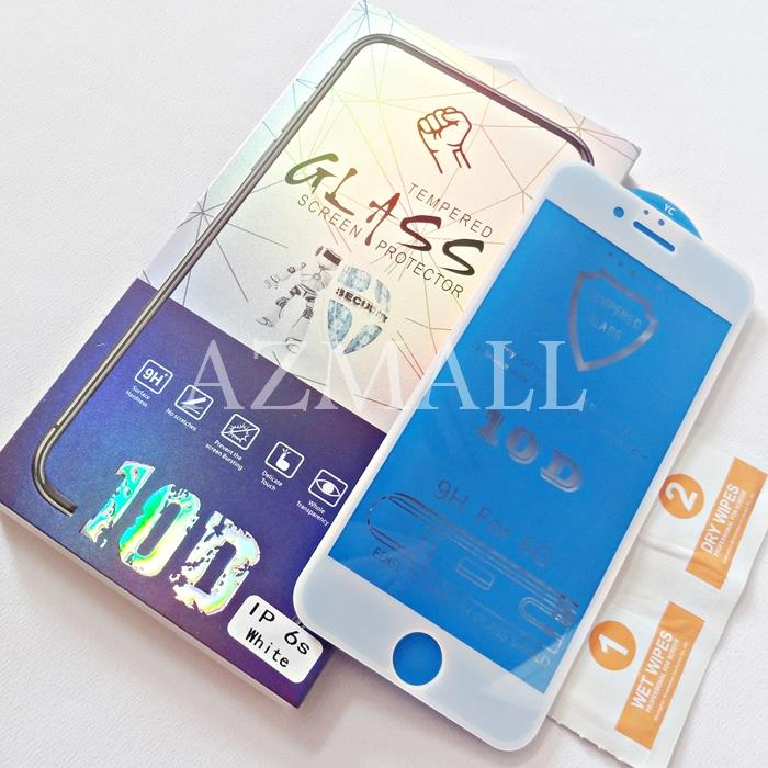(Edge to Edge) 10D Full Cover Tempered Glass Apple iPhone 6 6S (4.7)