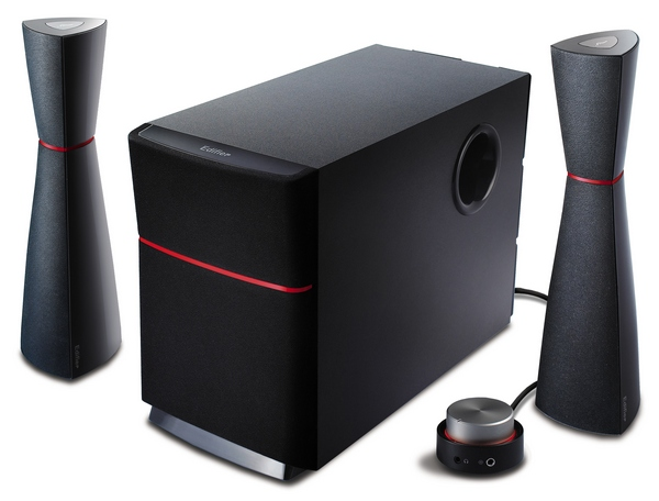 EDIFIER 2.1 SPEAKER (M3200) BLUE/RED