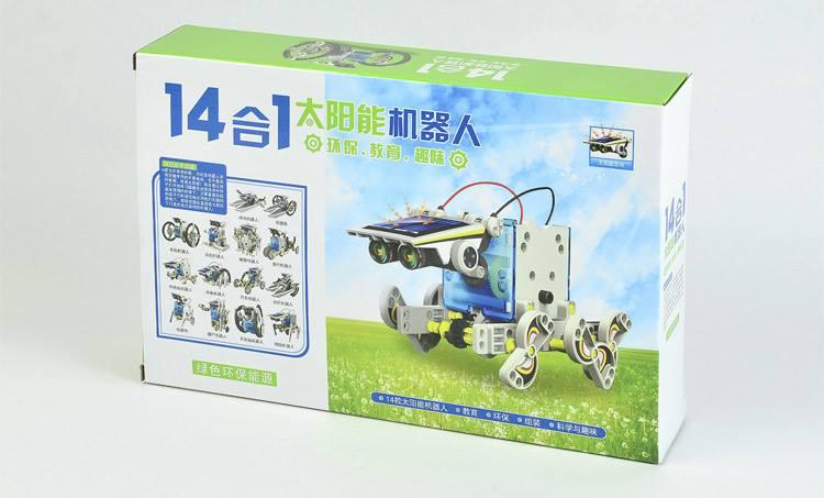 Education Toy,Solar Kit (14 in 1 ) DIY Robot