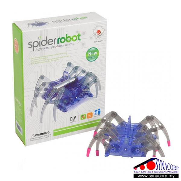 Educational Intelligent Electric Spider Robot DIY Kit for STEM