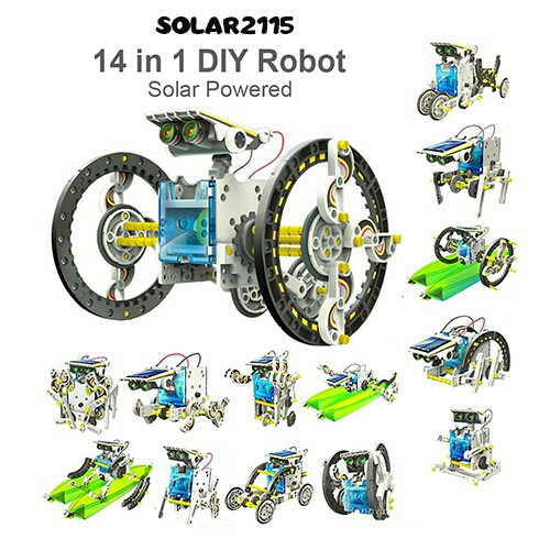 Educational Solar Power Toys Diy Robot Kit Early Learning Toy