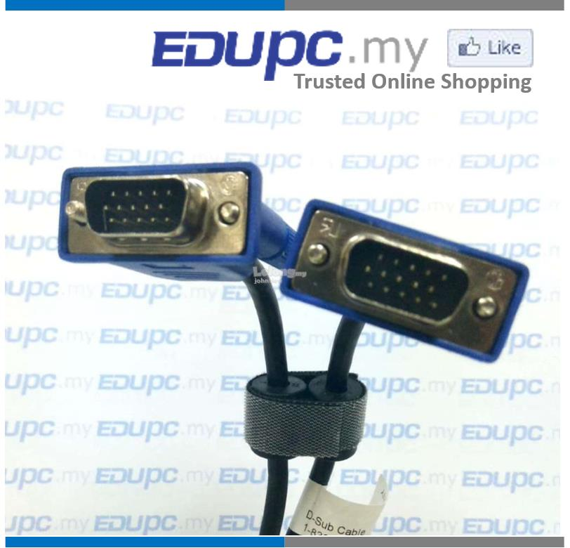 EDUPC.my VGA / RGB Cable Male (M) to Male (M) 1.5 meter