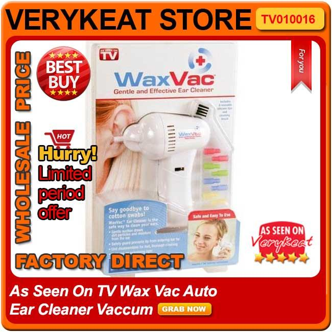 Effective Wax Vac Clean Electronic Ear Cleaner Vacuum Remover Baby