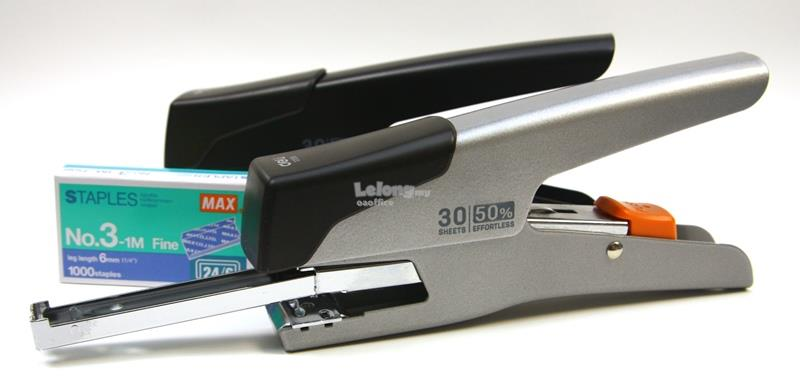 Effortless Plier Stapler Metal 30 Sheets