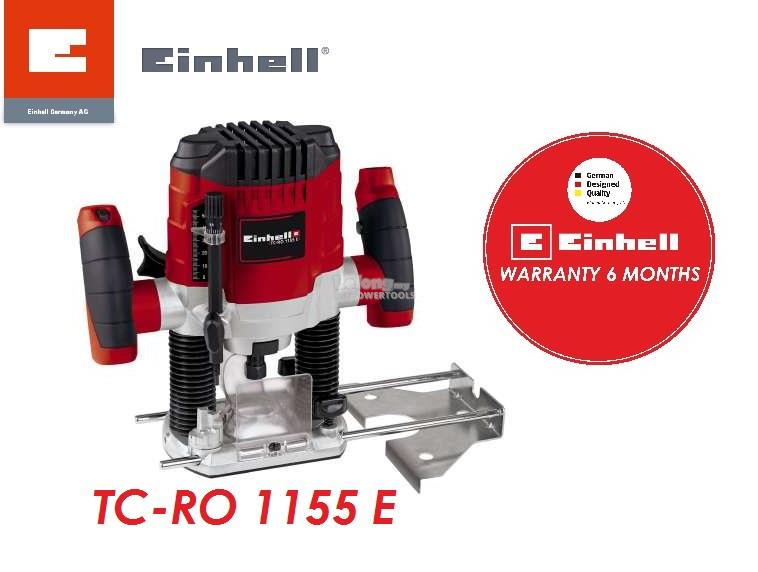 Einhell 1100W 6mm/8mm Wood Router