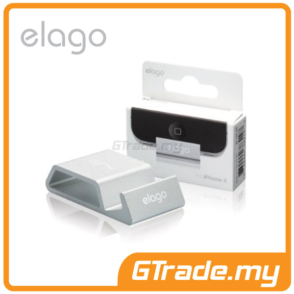ELAGO S4 Stand | Apple iPhone 4S 4 - Silver