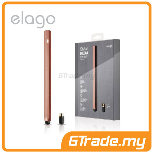 ELAGO Stylus Hexa |Apple iPhone 5S 5 iPad Air Mini Retina-Choco