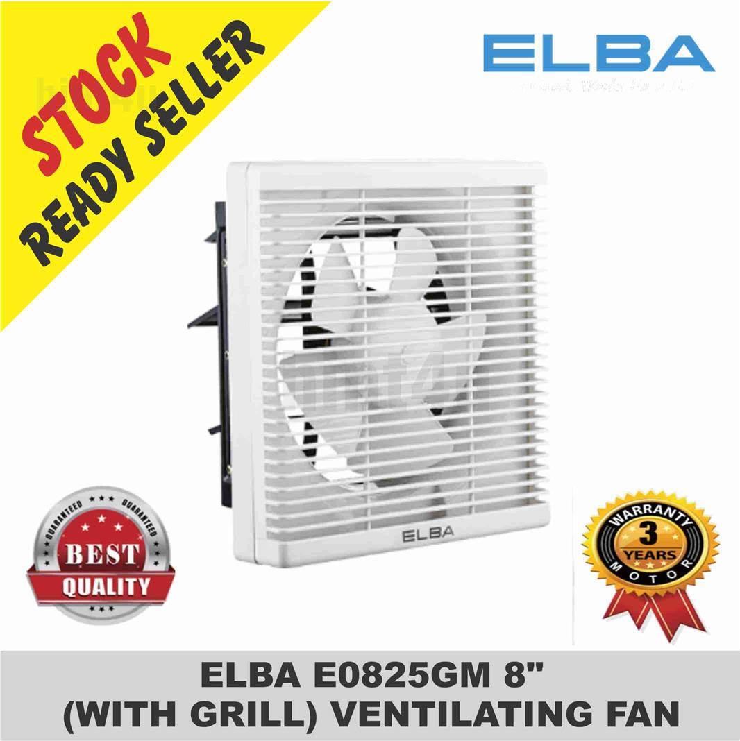 ELBA E0825GM 8' (WITH GRILL) VENTILATING FAN