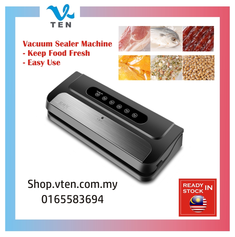 Electric Auto Vacuum Food Sealer Packaging Machine For Home Kitchen