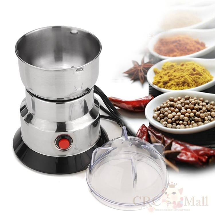 Electric Coffee Beans Grinder Coffee Maker Nuts Mill Stainless Steel Grinding
