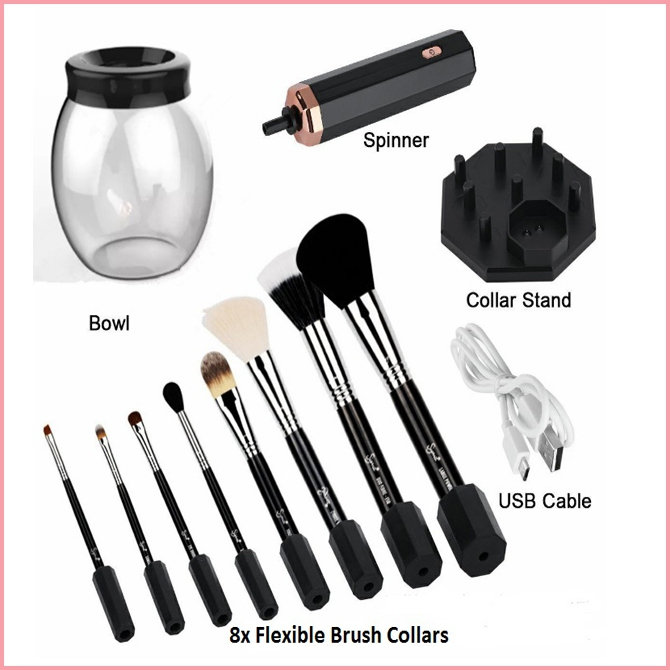 Electric Convenient Washing Makeup Brushes Cleanser