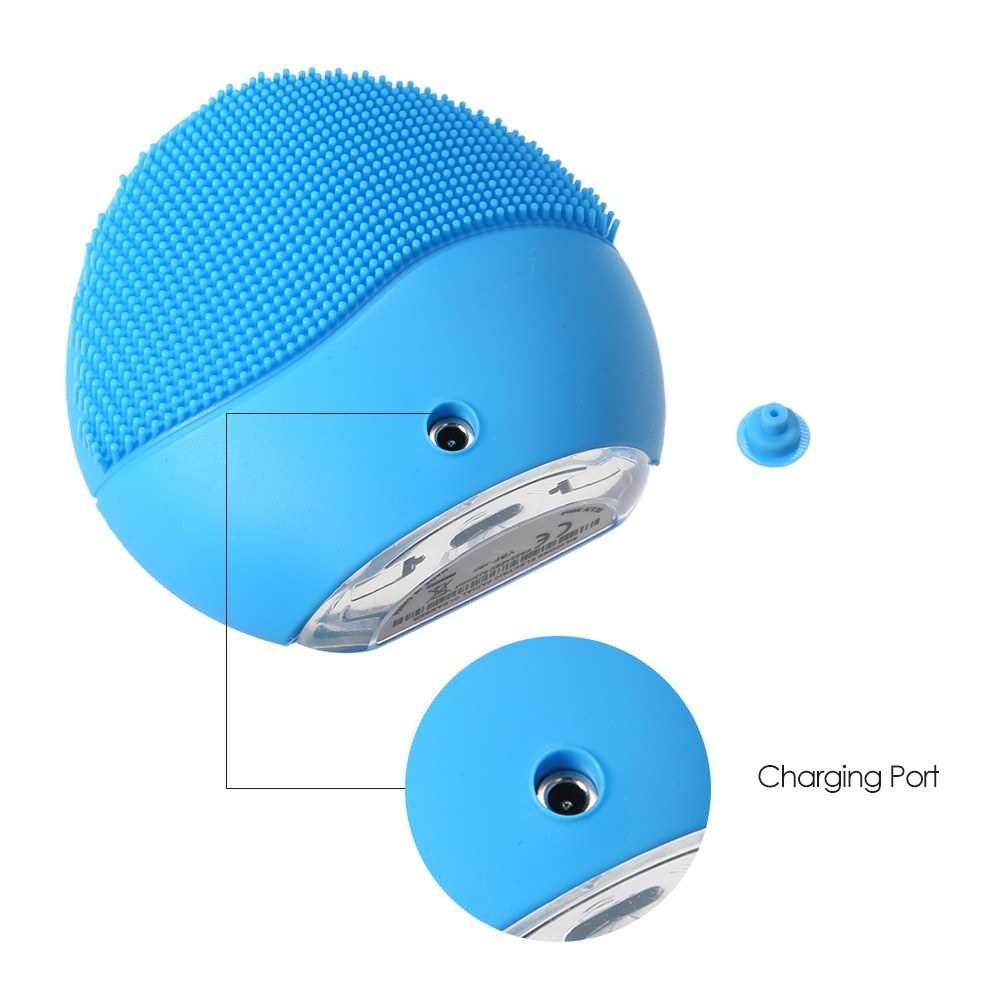 Electric Facial Cleanser Deep Cleaning USB Rechargeable Silicone Beaut