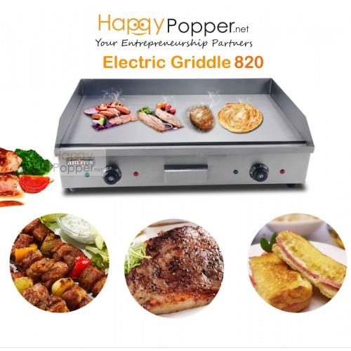 Electric Griddle pancake machine barbeque grill kitchen electric beef