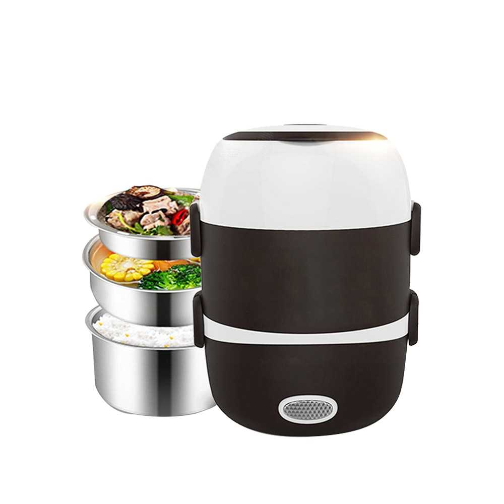 Electric Lunch Box Rice Cooker Food Warmer Bento Lunch Box Heater