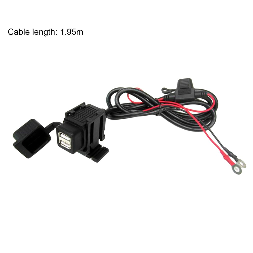Electric Motorcycle Waterproof Dual End 12 23 2018 653 Pm Wiring Usb To Port Car Charger Power Supply
