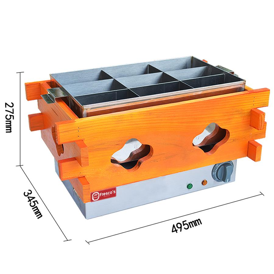 Electric Oden 9 Grids FRR-25 Oden Machine