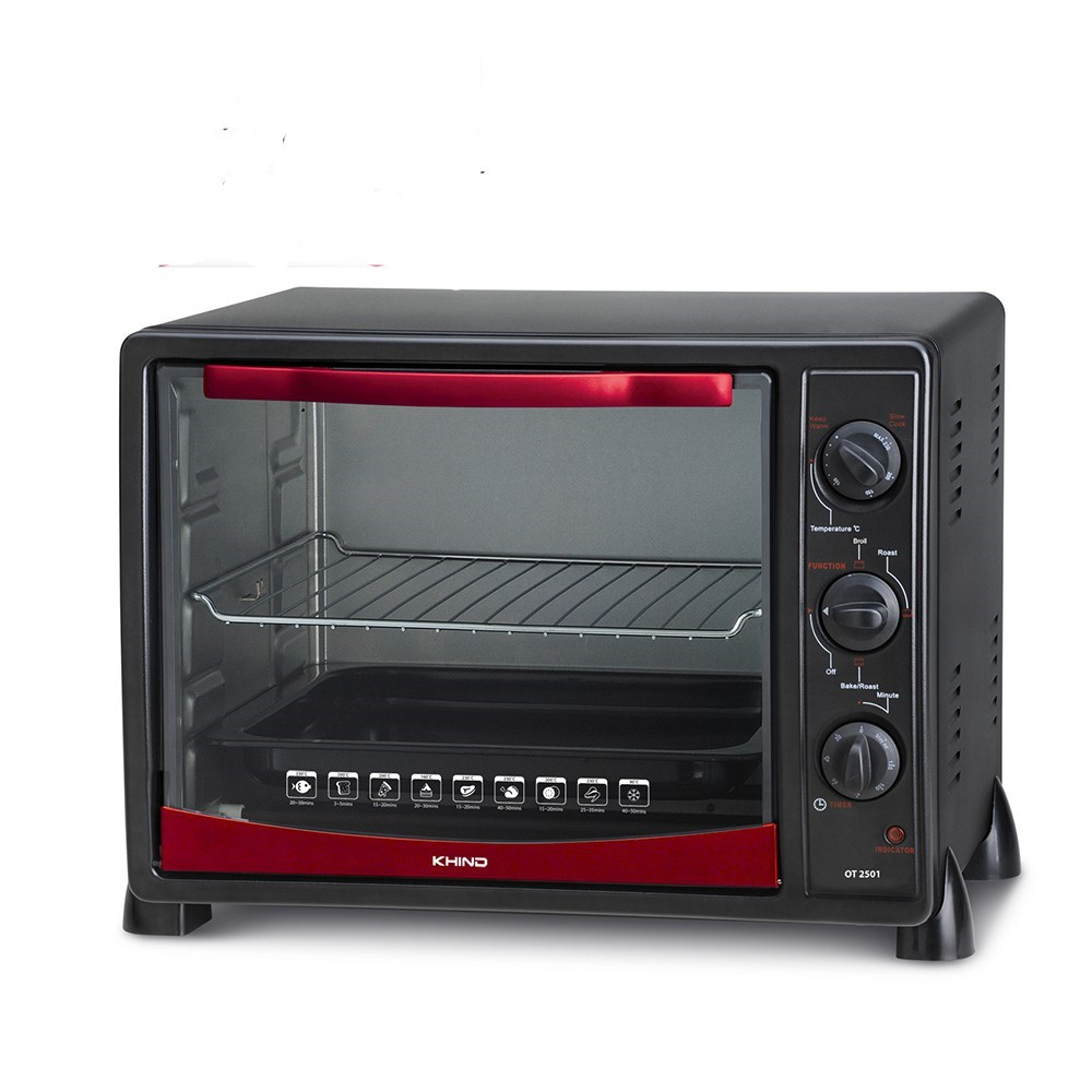Electric Oven Toaster 25L + 2 FREE Baking Trays 5.0