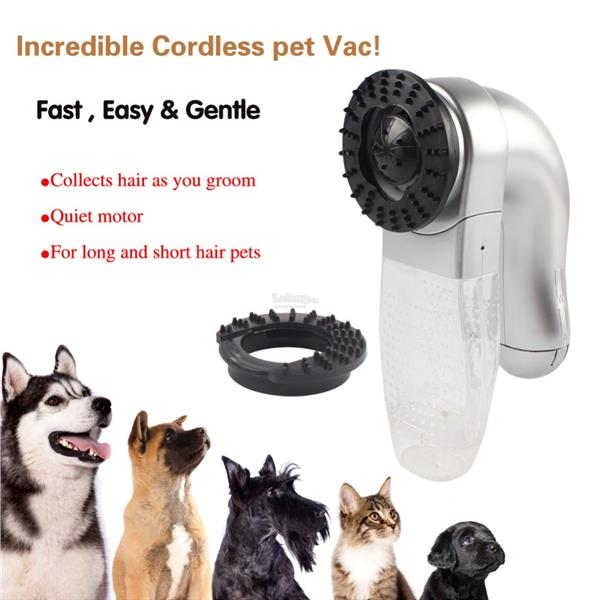 Electric Pet Hair Vacuum Remover Suction Device For Grooming