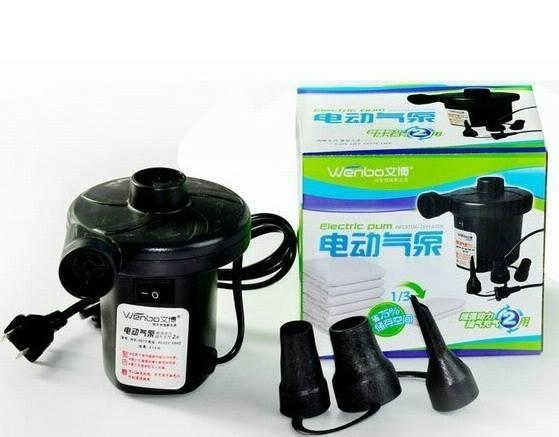 Electric Pump for Inflatable Pool Matteress Sofa