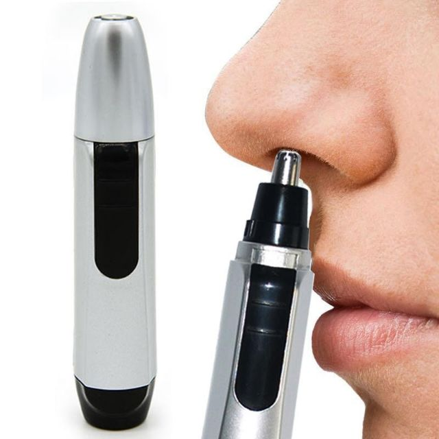 Electric Trimmer Nose Ear Hair Cut Facial Clipper Shaver Razor Trimer Face Cle