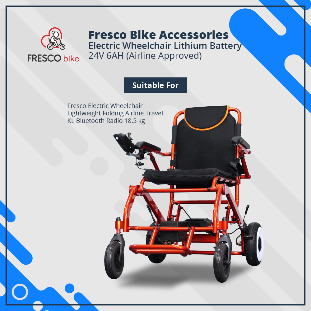 Electric Wheelchair Lithium Battery 24V 6AH