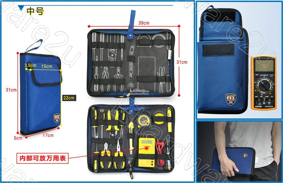 Electrician Padded Zipper Tools Organize & Multimeter Tools Bag (FST02