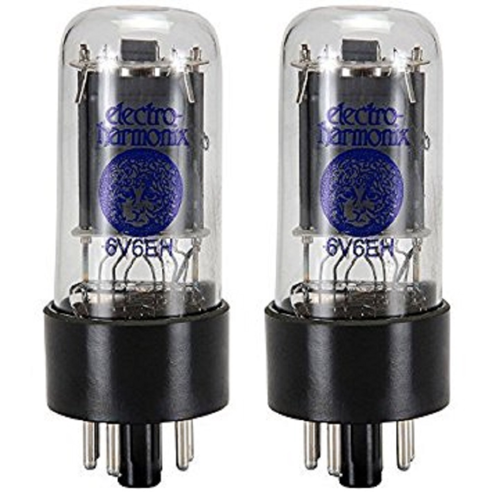Electro-Harmonix 6V6 Power Amp Tubes (Matched Pair)
